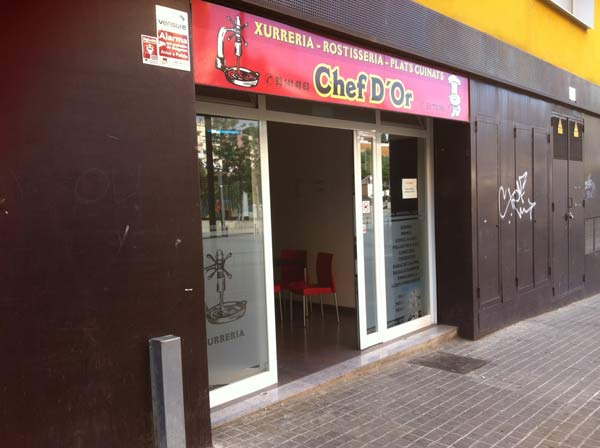 chef d'or mataró