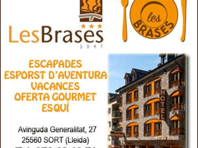 Hotel Les Brases a Sort