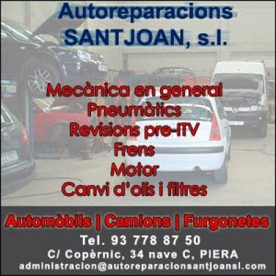 Autoreparacions Santjoan  mecànic a Piera