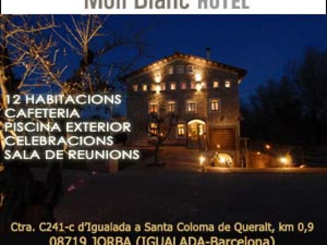 Molí Blanc Hotel Jorba Igualada
