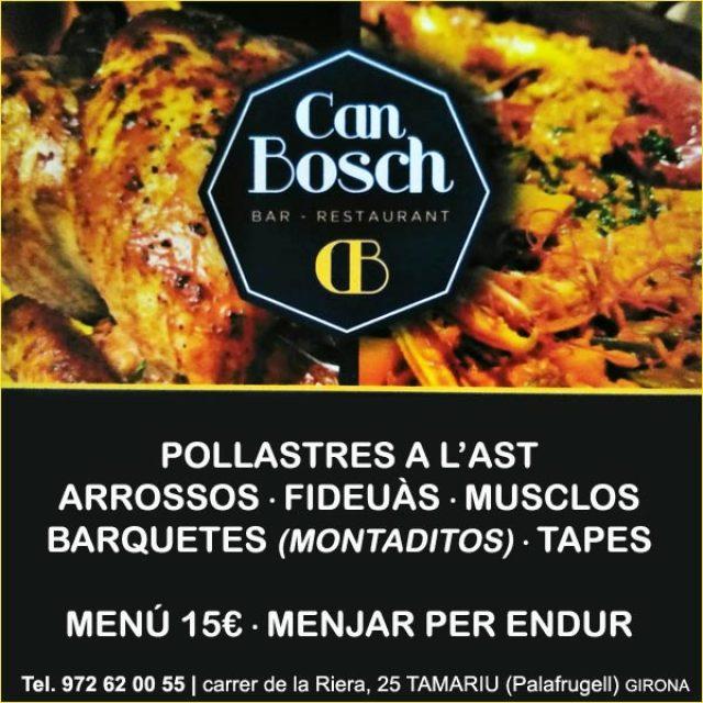 Tamariu Rostisseria Restaurant Can Bosch