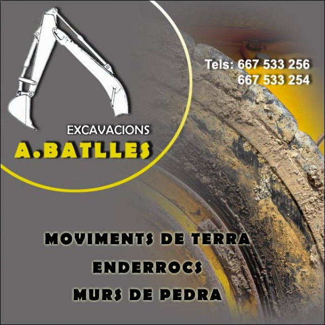 Excavacions A. Batlles Santa Eulàlia de Ronçana