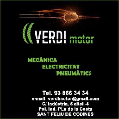 Verdi Motor taller mecànic a Sant Feliu de Codines