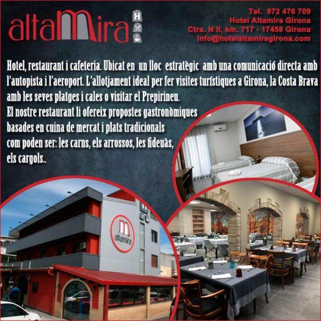 Hotel Restaurant Altamira Girona