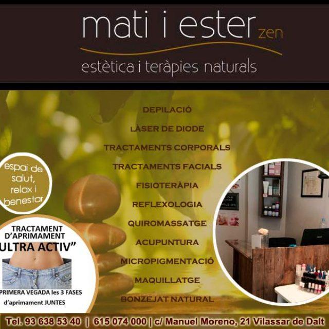 Estètica Mati i Ester Vilassar de Dalt