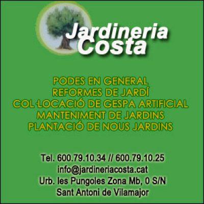 Jardineria Costa Jardiners Sant Antoni de Vilamajor