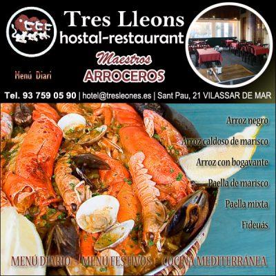 Hostal Restaurante Tres Leones Vilassar