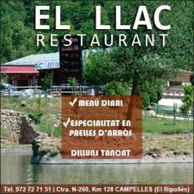 El Llac Restaurant Campelles