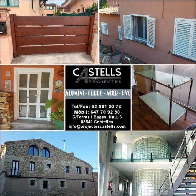 Centelles Serralleria Ferro Alumini Projectes Castells