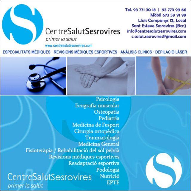 Centre Salut Sesrovires Centre Mèdic
