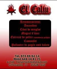 Restaurant El Caliu Taüll