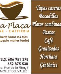 Cafeteria La Plaça Mollet del Vallès