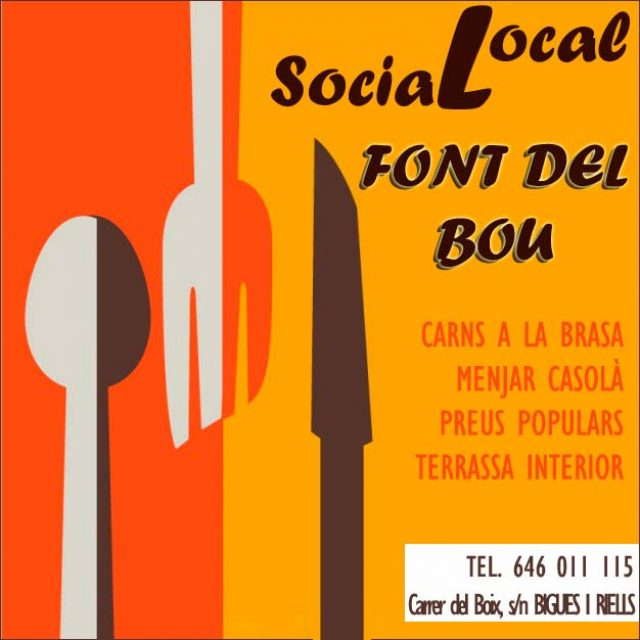 Bigues Riells Local Social Font del Bou