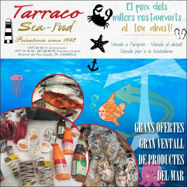 Peixateria Cambrils Tarraco Sea Food