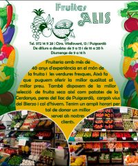 Fruites Alis Puigcerdà