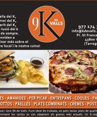Restaurant 9 K de Valls