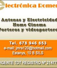 Electrónica Romero Antenas Sils