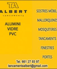 Banyoles Tancaments Albert Alumini Pvc
