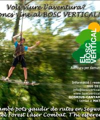 Aventura Arbres Dosrius El Bosc Vertical