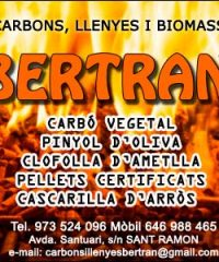 Carbons i Llenyes Bertran Sant Ramon