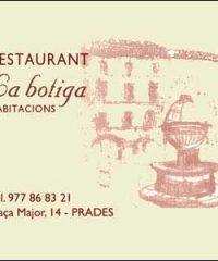 Hotel Restaurant La Botiga Prades