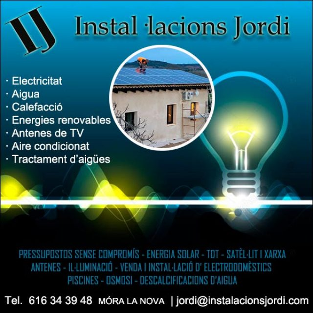 Móra Ribera Ebre Lampista Antenes InstalacionsJordi