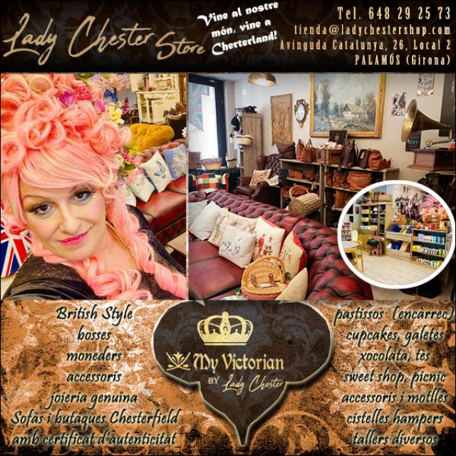 Palamós Decoració Pastisseria Victoriana Lady Chester Shop
