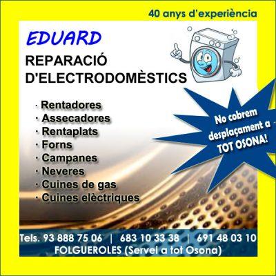 Eduard Reparació Electrodomèstics Folgueroles