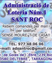Loteria Sant Roc Deltebre