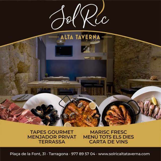 Tarragona Restaurant Solric Alta Taverna
