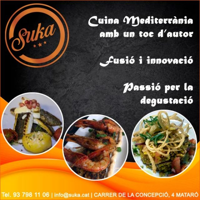 Mataró Cuina Mediterrània Fusió Restaurant Suka