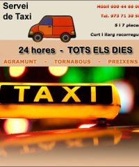 Taxi Agramunt