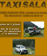 Taxi Sala Martinet Cerdanya