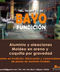 Bigues Aluminio Fundición Bayo