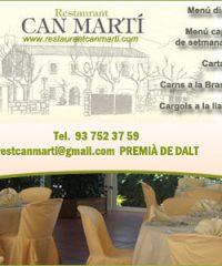 Can Martí Restaurant Premià