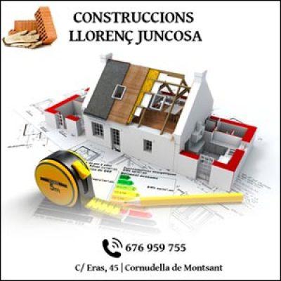 Construccions Llorenç Juncosa Cornudella Montsant