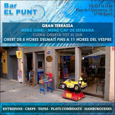 Ripoll Bar Restaurant El Punt