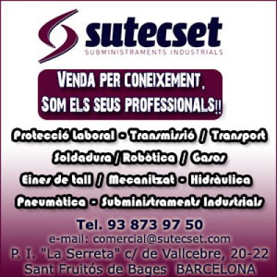 Sutecset Subministraments Industrials Sant Fruitós Bages