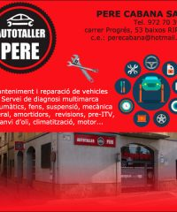 Mecànic Ripoll Autotaller Pere