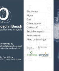 Corbera Llobregat Instalacions Bosch i Bosch