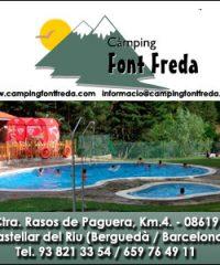 Càmping Font Freda Castellar Riu