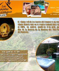 Tagamanent Turisme Rural Les Casetes del Congost