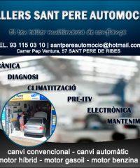 Sant Pere Ribes Taller Mecànic Automoció
