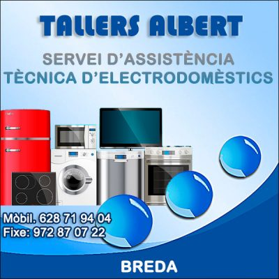 Breda Reparació Electrodomèstics Albert