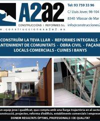 Construccions Reformes A2A2 Vilassar