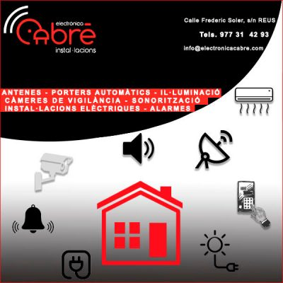 Reus Antenes Porters Automàtics Electrònica Cabré