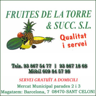 Fruites de la Torre