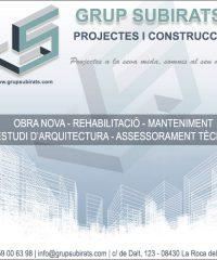 La Roca Construcció Reformes Grup Subirats