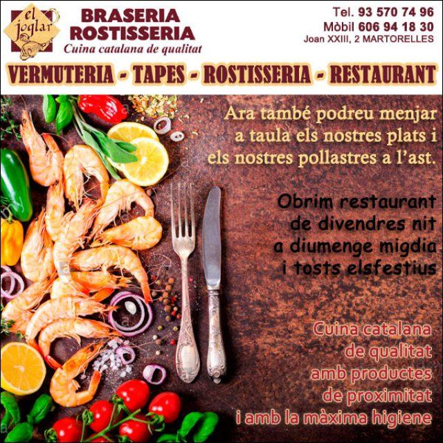 Martorelles Rostisseria Restaurant Pollastres Ast el Joglar