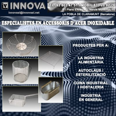 Accessoris Acer Inoxidable Pobla Claramunt Innova